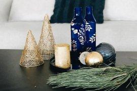 Upcycling Flaschen Bemalen DIY Blog